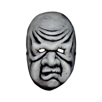 The Twilight Zone - The Masks: Wilfred Harper Vacuform Mask