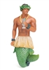 Hawaii Merman December Diamond Collectible Figurine Statue