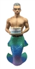 Beefcake Large Display Figurine Sculpture not an ornament but a display piece measures 20 inches tall