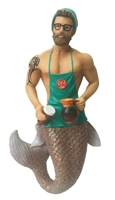 Java Merman December Diamond Collectible Figurine Statue