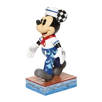 Disney Traditions Mickey Mouse Sailor Personality Pose Snazzy Sailor by Jim Shore Statue