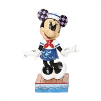 Disney Traditions Minnie Mouse Sailor Personality Pose Sassy Sailor by Jim Shore Statue