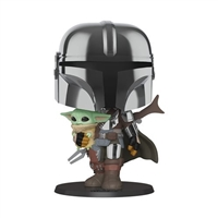 Star Wars: The Mandalorian Chrome 10-Inch Pop! Vinyl Figure