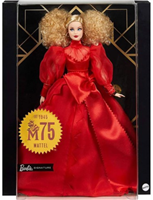 Barbie Mattel 75th Anniversary Doll - Blonde