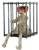 Caged Kid Halloween Prop 2019 Trick or Treat Horror Decor