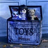 Animated Haunted Toy Chest Halloween Prop Trick Or Treat 2019