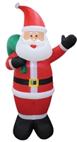 8' Santa Claus Christmas Inflatable Get It Now