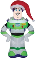 Airblown Buzz Lightyear Christmas Lawn Decoration