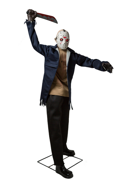 Animated Jason Voorhees Friday the 13th Halloween Prop