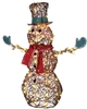 Snowman Starry Night Grapevine Christmas Decorations