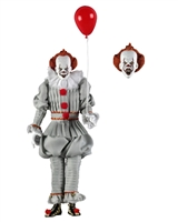 IT (2017) – 8″ Clothed Action Figure – Pennywise Collectible