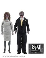 They Live – 8″ Clothed Action Figures – Alien 2 Pack collectible