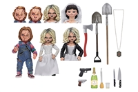 Bride of Chucky – 7″ Scale Action Figure – Ultimate Chucky & Tiffany 2-Pack