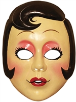 Pin Up Girl Vacuform Mask - The Strangers: Prey At Night