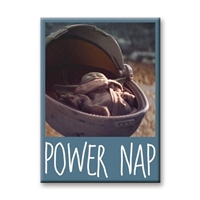 The Mandalorian The Child Power Nap Flat Magnet