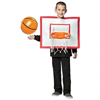Rasta Imposta Basketball Hoop Costume for Kids Halloween Trick Or Treat