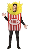 Rasta Imposta - French Fries Adult Halloween Costume