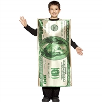 Rasta Imposta $100 Bill Child Halloween Costume