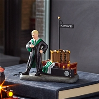 Harry Potter Draco Waits at Platform 9 3/4  Collectible figurine statue