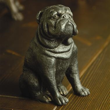 Stern Bulldog Yard and Garden Decoration