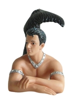 Surf Merman December Diamond Collectible Figurine Statue