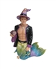 Wiz Merman December Diamond Collectible Figurine Statue