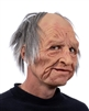 Supersoft Old Man Mask with Mouth Movement  Lifelike Halloween Mask