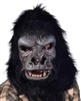 Two Bit Roar Gorilla Mask with Moving Mouth Lifelike Halloween Mask