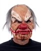 Supersoft Smiley Sinister Clown Mask with Mouth Movement Lifelike Halloween Mask