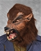 Howloween Werewolf Mask with Moving Mouth Lifelike Halloween Mask