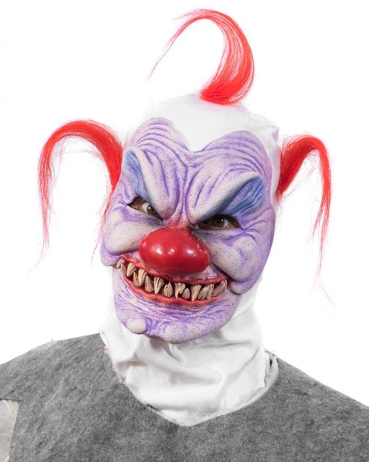 Syco The Clown Lifelike Halloween Mask