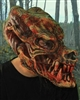Kick Ass Beast Mask with Mouth Movement Lifelike Halloween Mask