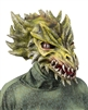 Draco (Dragon) Green Mask Lifelike Halloween Mask