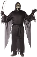 Scream: Men's Plus Size Zombie Ghostface - Mask and Outfit