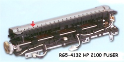 HP Laserjet 2100 Fuser Assembly RG5-4132