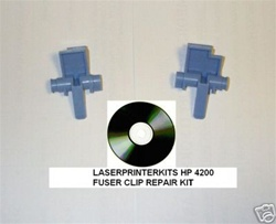 HP Laserjet 4200 4300 Fuser Clip Repair Kit