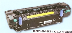 HP Color Laserjet 4600 Fuser w/ core return RG5-6493