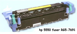 HP Color Laserjet 5550 Fuser w/ core return RG5-7691