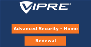VIPRE Advanced Security for 5 PC with 2 Year Subscription Renewal