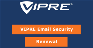 VIPRE Email Security Subscription Renewal 5-24 Seats 3 Years