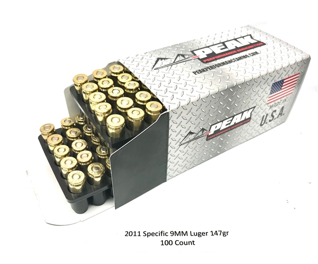 2011 SPECIFIC 147GR 9MM