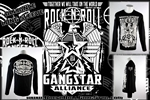Rock-n-Roll GangStar Alliance Mens Long Sleeve T Shirt