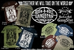 Rock-n-Roll GangStar Alliance Mens T Shirt