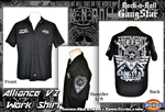 Alliance V2 Dickies Work Shirt Rock n Roll Heavy Metal