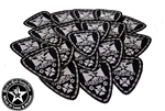 Rock n Roll GangStar Biker Cross embroidered iron on patches Rock n Roll Heavy Metal accessories