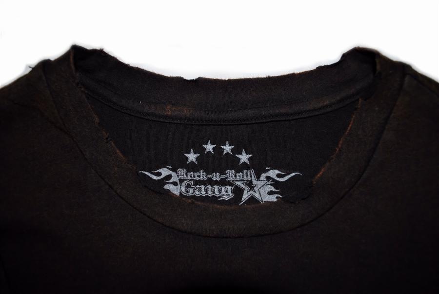 85551a20692 Biker Cross V2 Mens Black Super Vintage Wash T Shirt Rock n Roll Heavy  Metal Sturgis