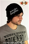 Stretch Beanie with Rock-n-Roll GangStar lettering