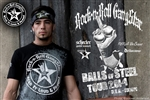 Balls Of Steel Tour 2014 Rock n Roll Heavy Metal Mens T-shirt Black