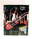 LED ZEPPELIN Jimmy Page ZOSO 8x10 canvas print wall art Rock n Roll collectible