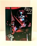 KISS ALIVE! PETER CRISS 8x10 canvas print wall art Rock n Roll collectible